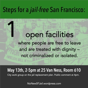 Open facilities: People are free to move and are not under surveillance or isolated. People are treated with dignity and respect as patients or residents. Any facilities built should not be locked facilities.