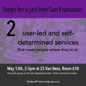 User-led and self-determined: People in the programs or facilities have self-determination over use of the services, which should be trauma-informed and emphasize harm reduction, meeting people where they're at, and where accountability can be determined through joint processes.