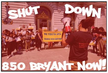 Shut Down 850 Bryant Now! Flyer (Front)